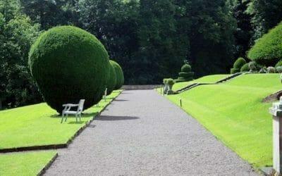 Calciblanc lanza al mercado un pavimento natural y ecológico ideal para zonas verdes